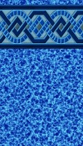 Captiva Blue inground pool liner pattern