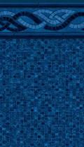Colorado Mosaic inground liner pattern