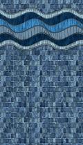 Inglewood Mosaic inground liner pattern