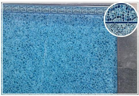 waterfall ocean pearl inground liner pattern