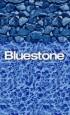 Bluestone Above Ground Pool Liner Pattern