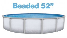 "Above Ground Round 36ft. Beaded 52"" Liner"