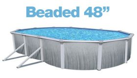 Above Ground Oval 12 x 18 Ft. Beaded 48″ Liner