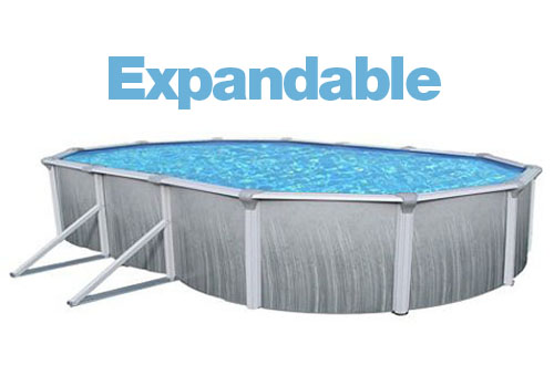 Above Ground Oval 18 X 33 Ft Expandable Liner
