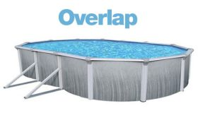 Above Ground Oval 12 x 18 Ft. Overlap Liner