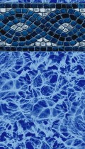 Mediterranean inground pool liner pattern in 20 or 30mil
