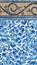 Siesta Wave inground pool liner pattern